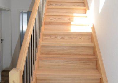 Holztreppe von Dietz Schreinerei