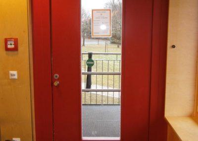 Sichere Eingangstür