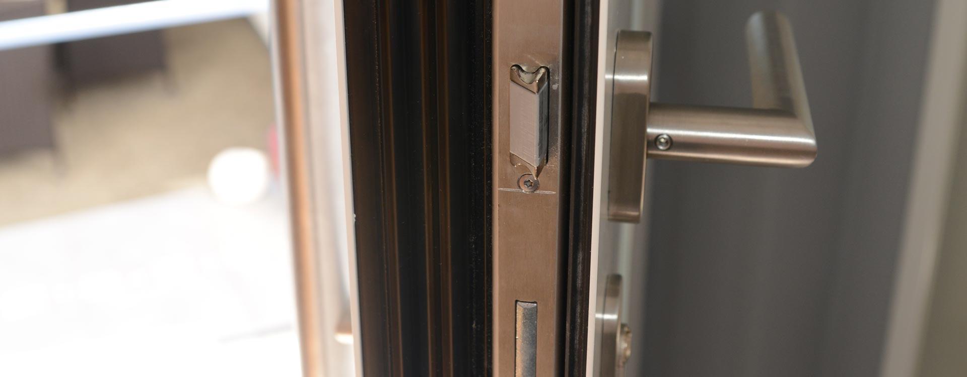 Haustüre mit Einbruchschutz