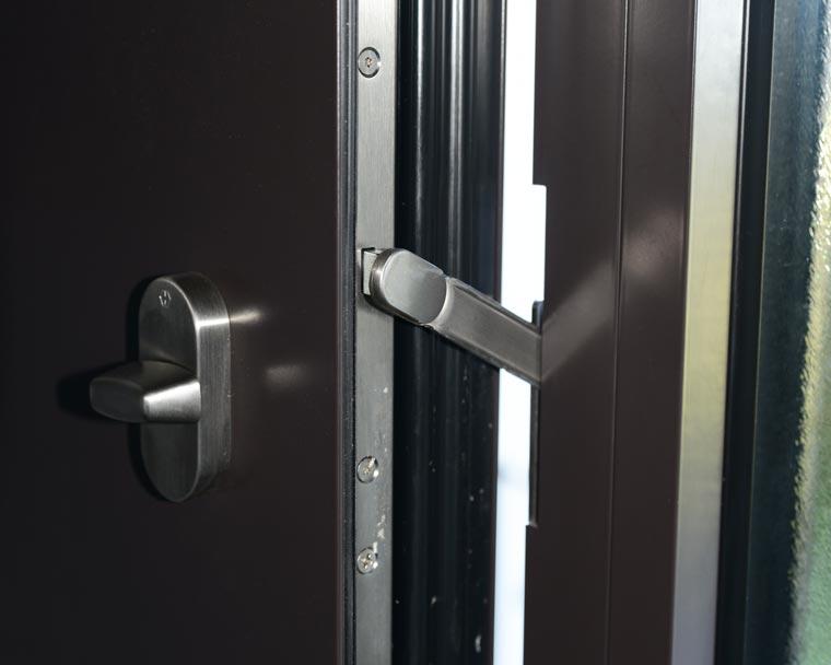 Sicherung an Haustüre